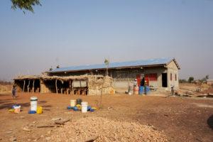 Construction de l'EPP école primaire de Kona Malabate, Région des Savanes, Togo.
