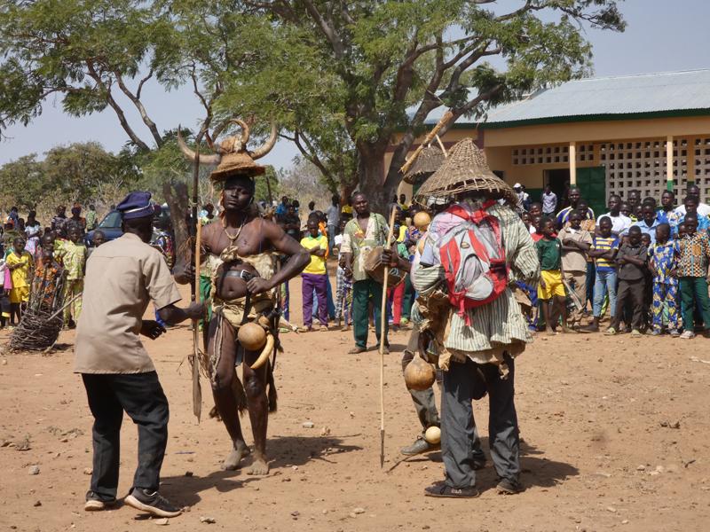 Inauguration du collège de l'Union des Plateaux, Région des Savanes, Togo