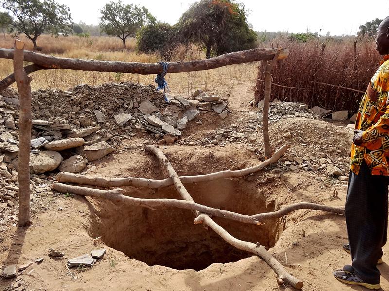 Lokpergou, jardin communautaire, Région des Savanes, Togo