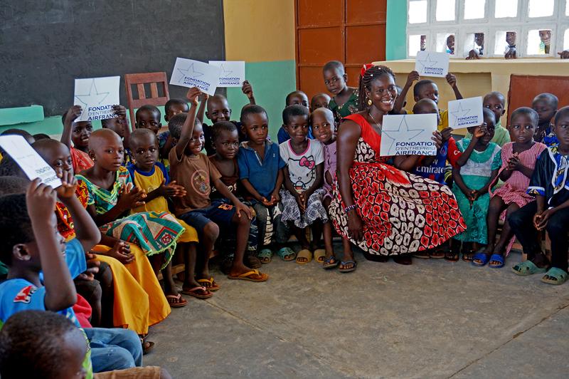Maternelle de Kona Malabate, Région des Savanes, Togo