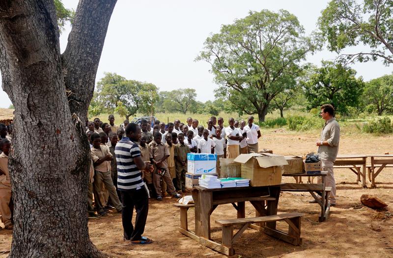 Collège de l'Union des Plagteaux, Région des Savanes, Togo