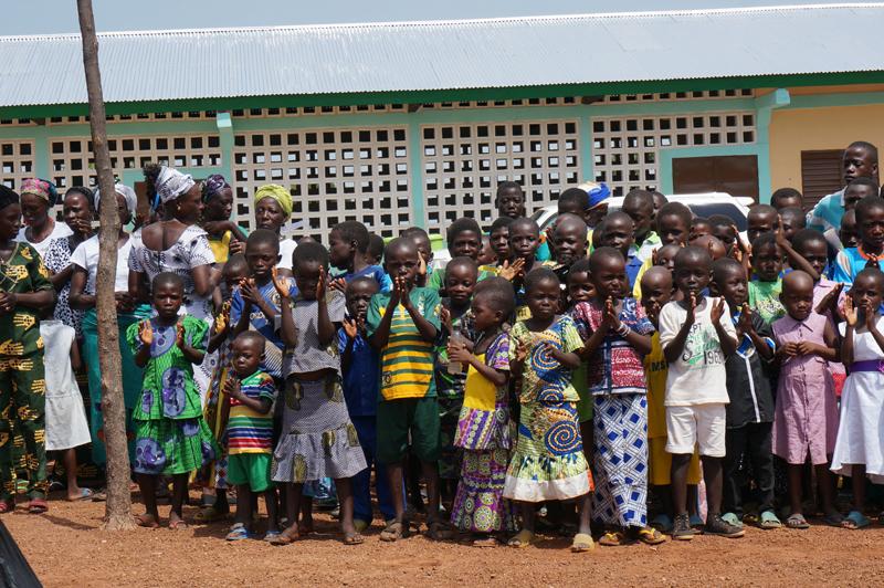 Construction de l'EPP école primaire de Kona Malabate, Région des Savanes, Togo