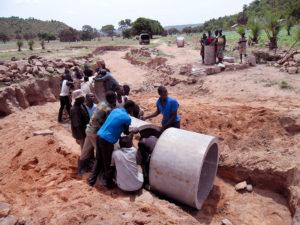 Réfection de la route d'accès au village de Lokpergou, Région des Savanes, Togo