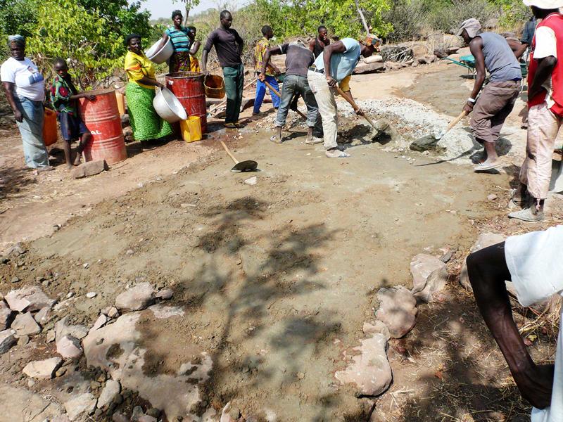 Une route d'accès difficile, Région des Savanes, Togo