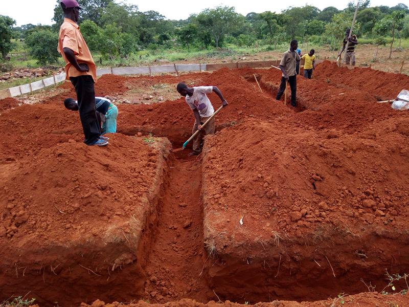 CFondation du collège de l'Union des Plateaux, Région des Savanes. Togo