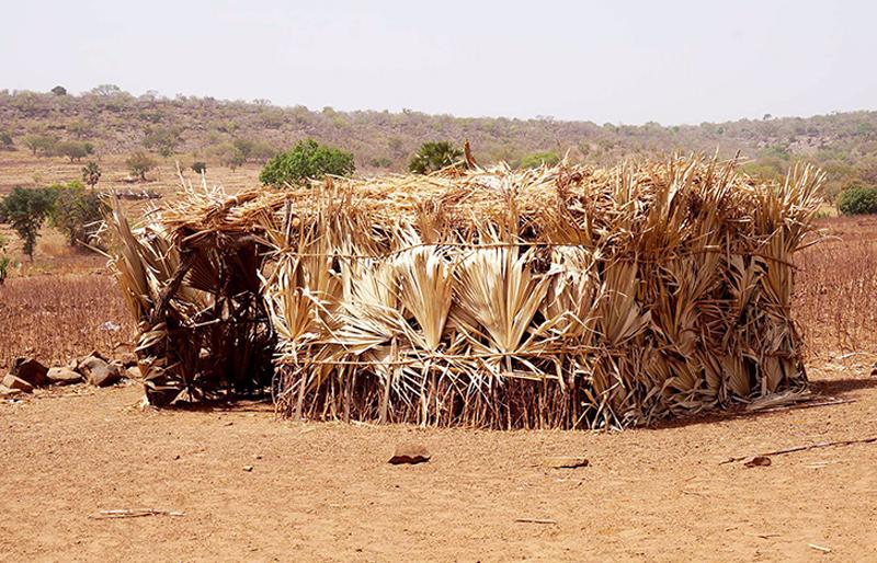 Une maternelle au village de Lokpergou, Région des Savanes, Togo