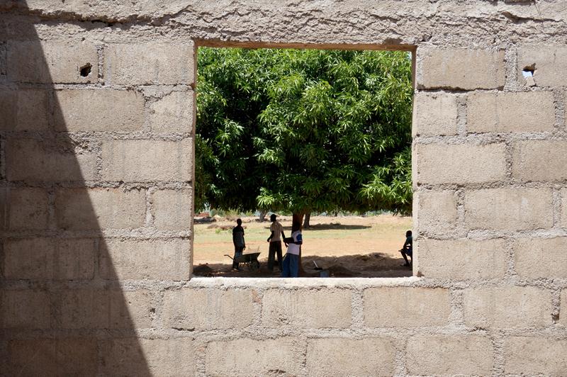 Rénovation d'un bâtiment et tranformation en maternelle, Nagou, Togo.