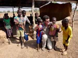 Enfants de maternelle, Kona et Malabate, région des Savanes, Togo.