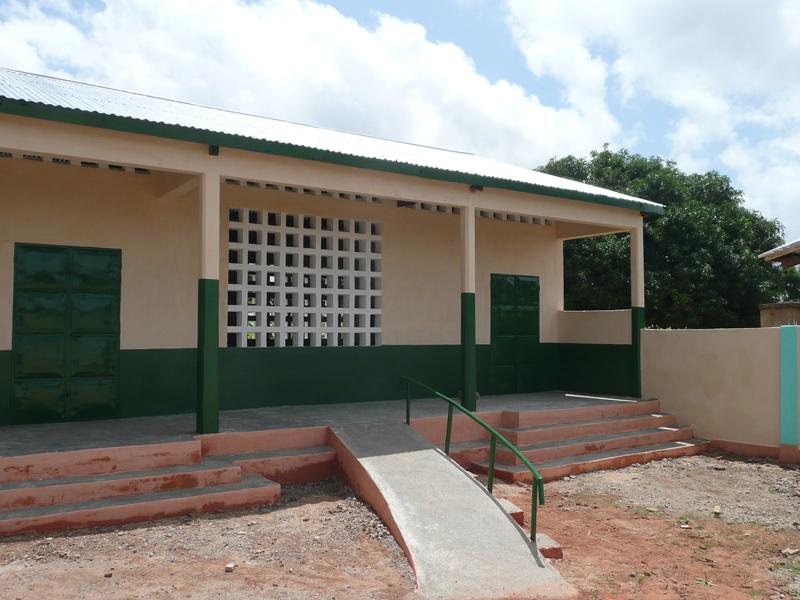 Maternelle rénovée, Nagou, Togo.